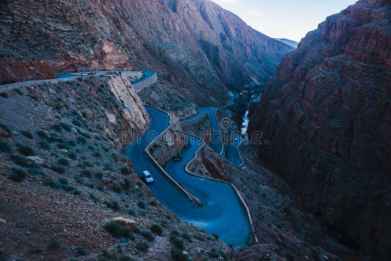 Gorges de Dades au Maroc photos libres de droits