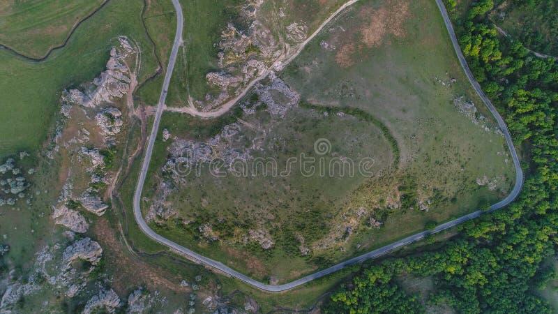 Gorges de Dobrogea et x28 ; Cheile Dobrogei& x29 ; Roumanie photos stock