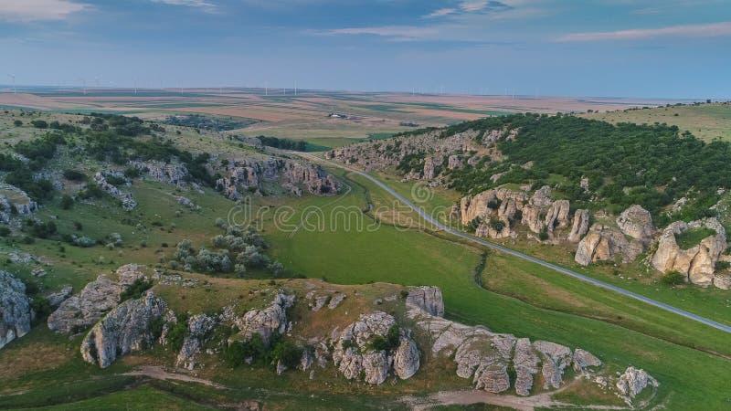 Gorges de Dobrogea et x28 ; Cheile Dobrogei& x29 ; Roumanie image libre de droits