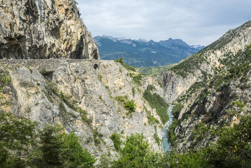 Download Gorges de Guil stock photo. Image of provence, mountain - 33608402