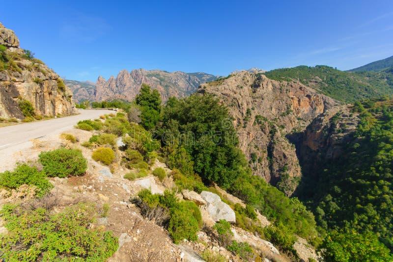 Gorges de Spelunca royalty free stock images