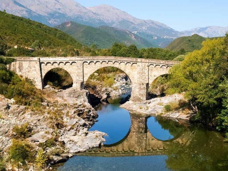 Gorges de Tavignano photographie stock libre de droits