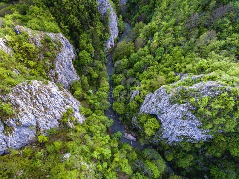 Gorges de Varghis dans Covasna et comté de Harghita, la Transylvanie, ROM images libres de droits