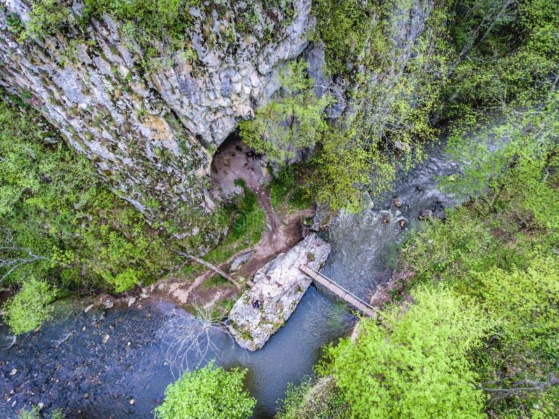 Gorges de Varghisului dans Covasna et comté de Harghita, la Transylvanie, photographie stock