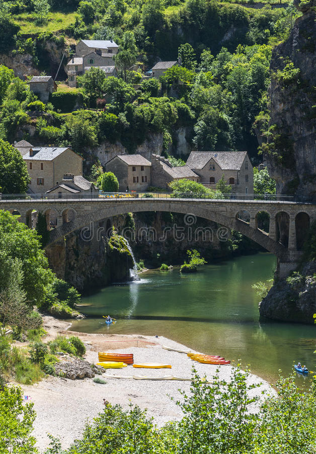 Gorges Du Tarn Stock Images