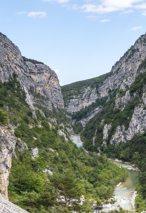 Gorges Du Verdon Στοκ Εικόνες