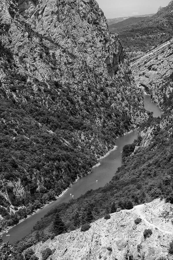 Gorges du Verdon (Frances) photographie stock libre de droits