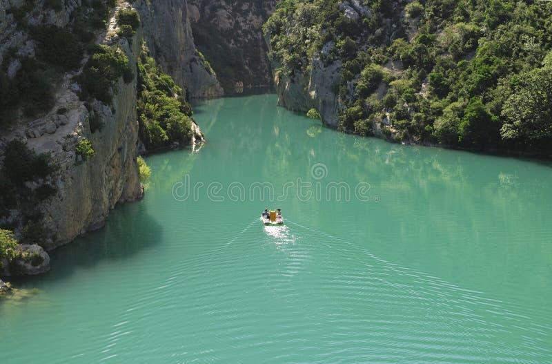 Gorges du Verdon (Provence, Frankreich) am Sommer lizenzfreies stockbild