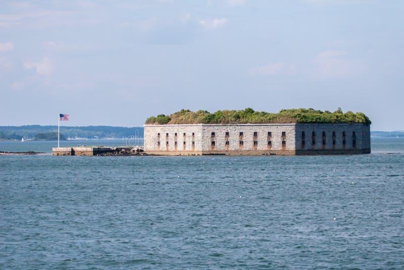 Gorges historiques de fort photo stock