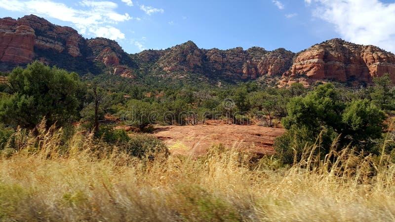 Gorges rouges photo stock