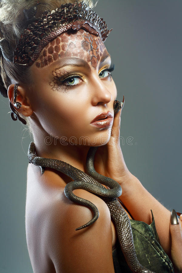 Gorgon royalty free stock images