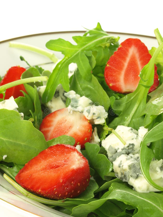 gorgonzola σαλάτα στοκ φωτογραφίες με δικαίωμα ελεύθερης χρήσης
