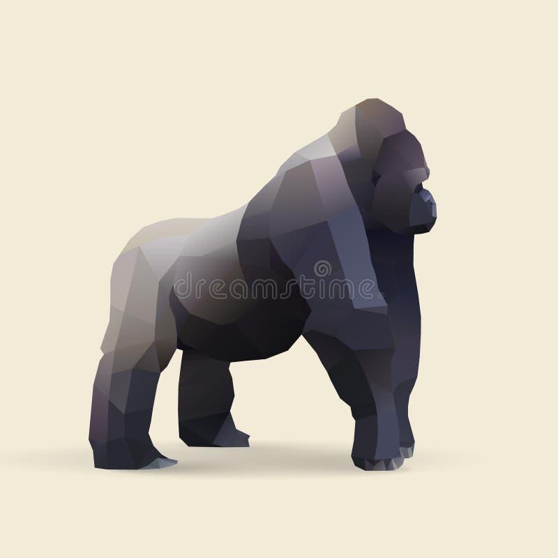 Gorila libre illustration