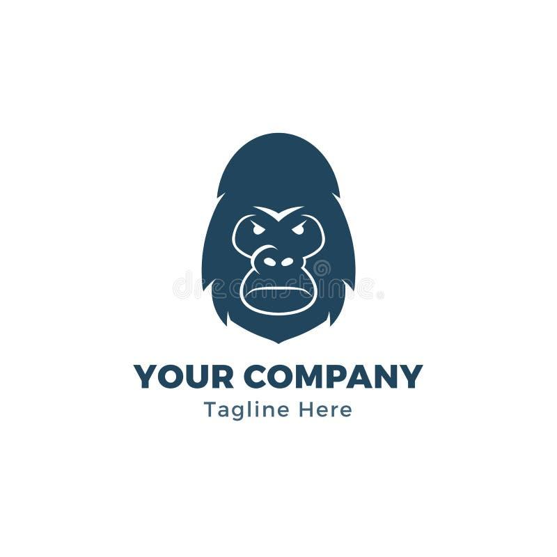 Gorilla . Gorilla Face. Gorilla Head . Gorilla Logo. Simple
