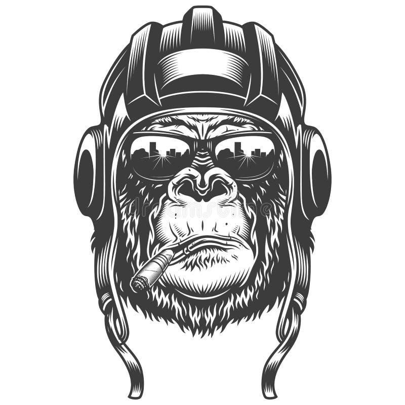 Gorilla Military Hat Stock Illustrations 24 Gorilla