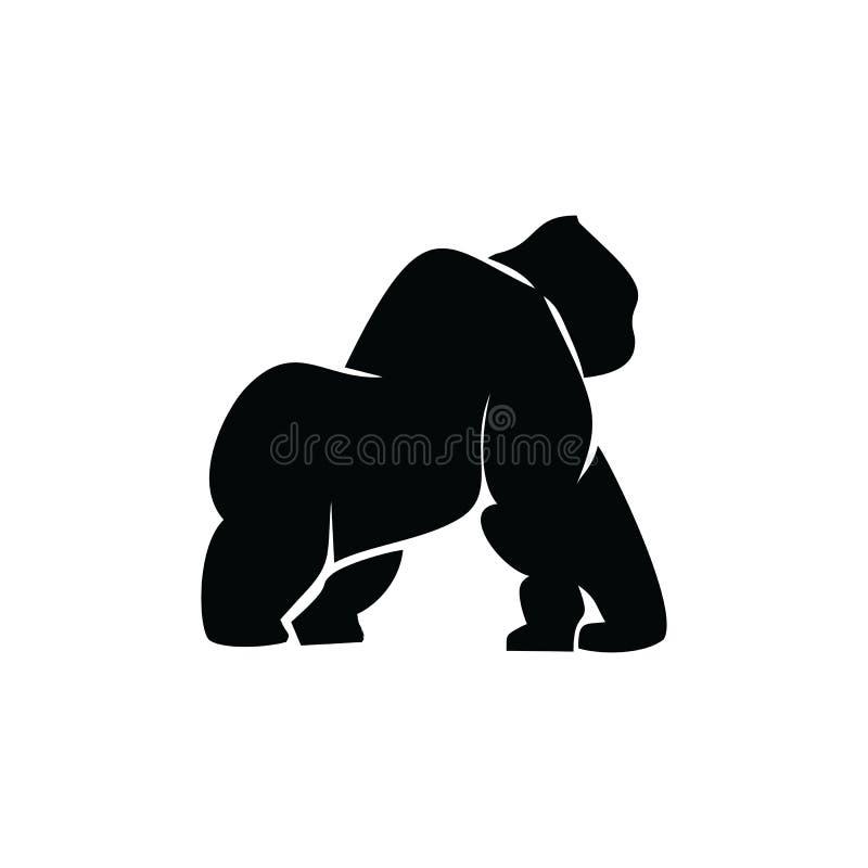 Gorilla Logo Design, icon, Vector, illustration vector illustration