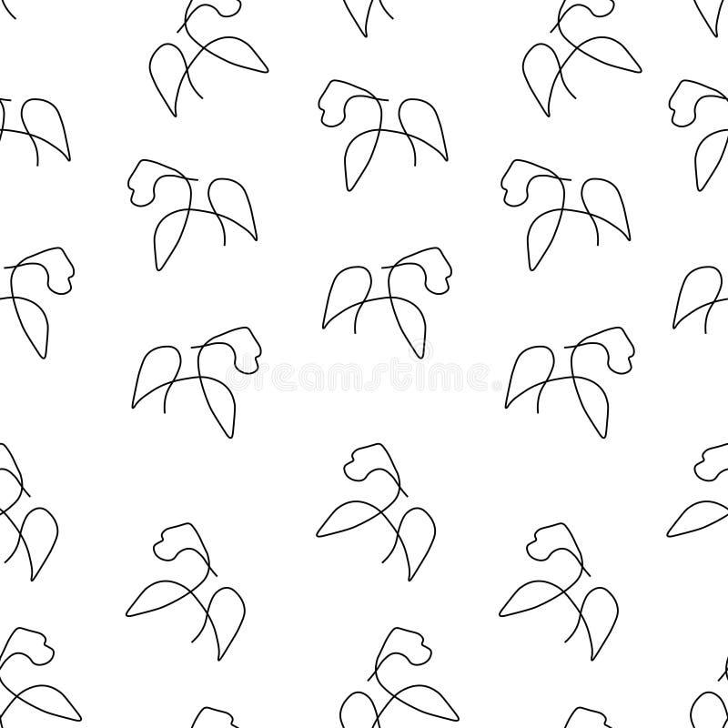 Gorilla pattern seamless stock illustration