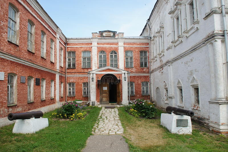 Goritsky-Uspensky修道院 库存图片