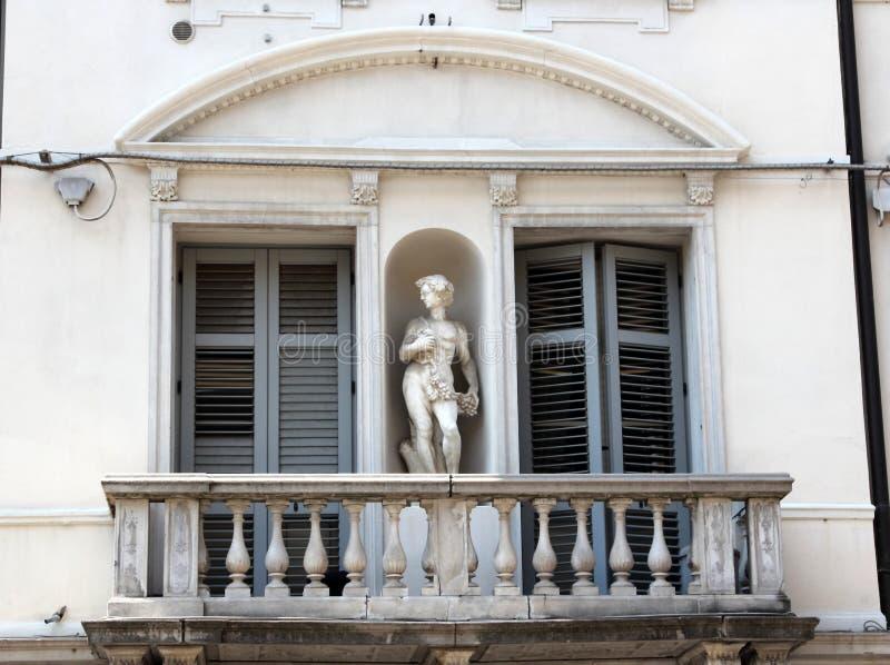 Gorizia, Italy. Historic architecture of Gorizia, Italy royalty free stock photos