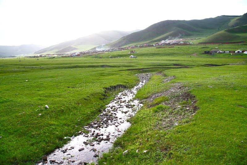 Gorkhi-Terelj National Park at Ulaanbaatar , Mongolia royalty free stock images