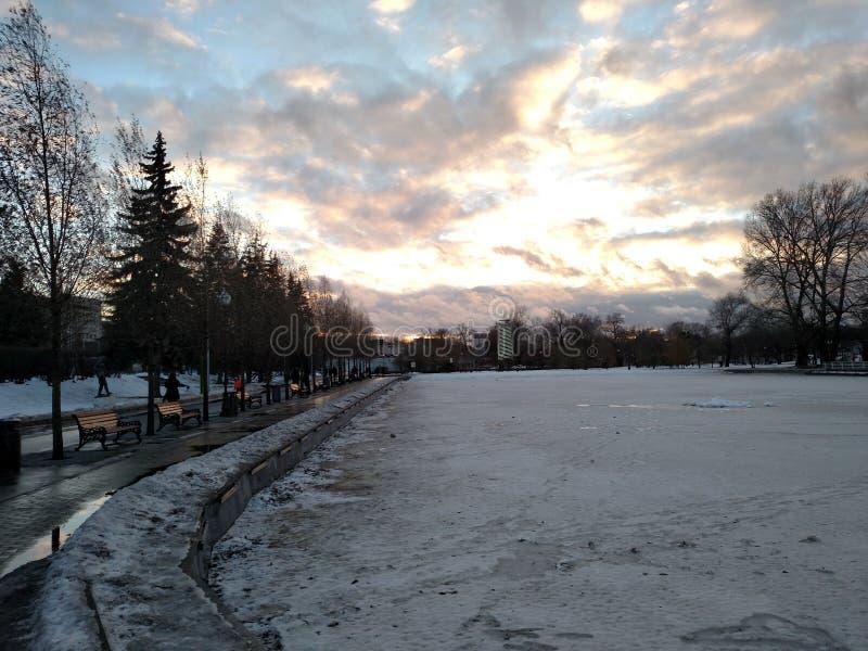 Gorky park royalty free stock photography