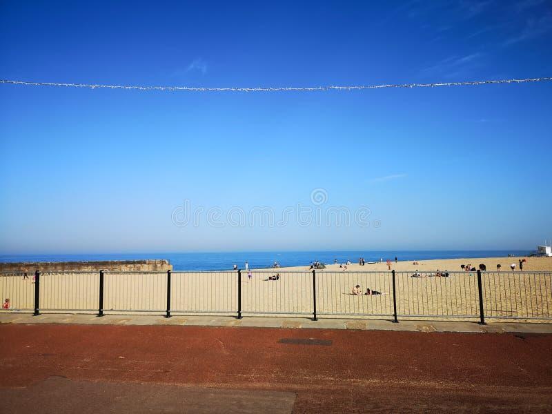 Gorleston strand royaltyfri bild