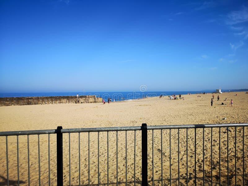 Gorleston strand arkivbild
