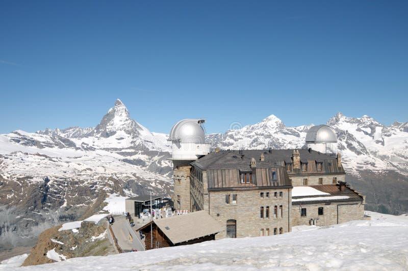 Download Gornergrat Observation Station Stock Photo - Image: 35291322