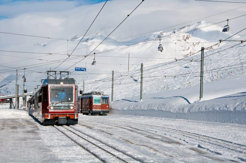 Gornergratbahn train