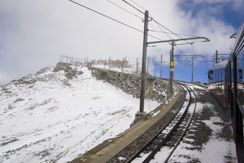 Gornergratbahn stock photo