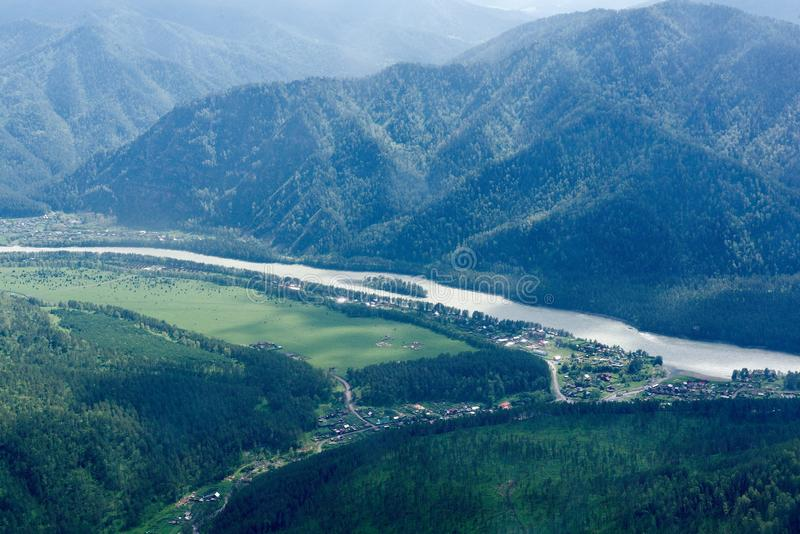 Gorny Altai, Sibérie, Fédération de Russie photos libres de droits