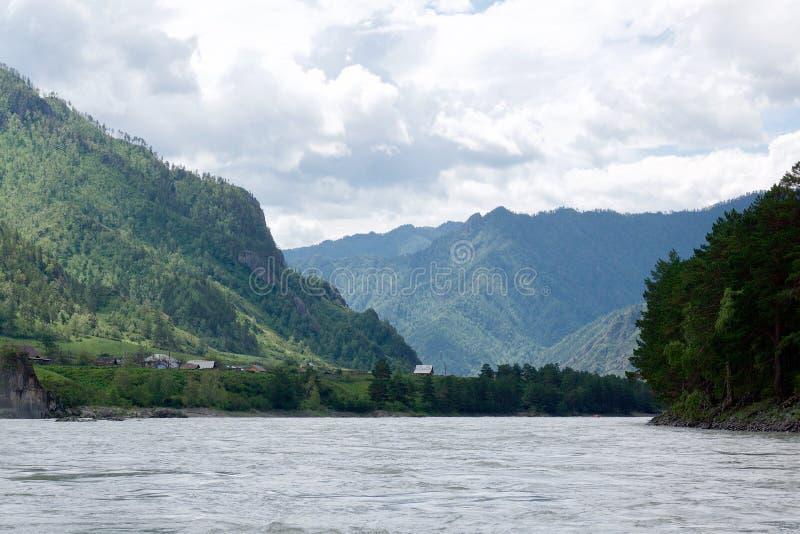 Gorny Altai, Siberia, Federazione Russa fotografie stock libere da diritti