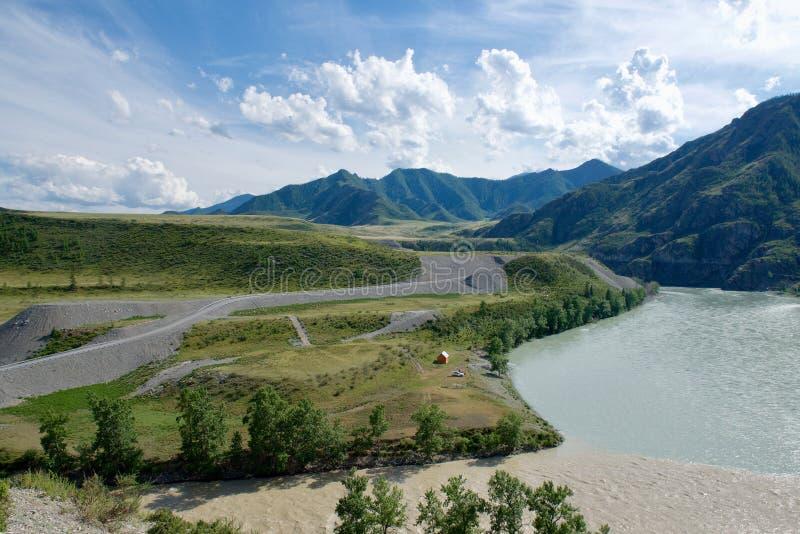 Gorny Altai, Siberia, Russian Federation. royalty free stock photography