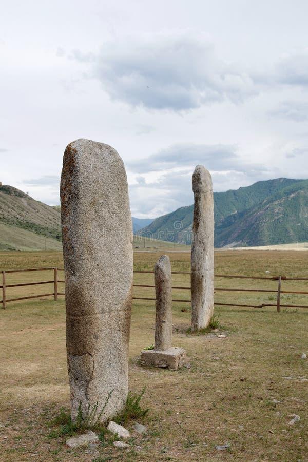 Gorny Altai, Sibirien, rysk federation arkivfoton