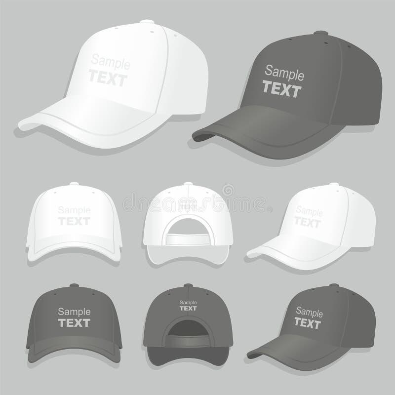 Gorra de béisbol ilustración del vector