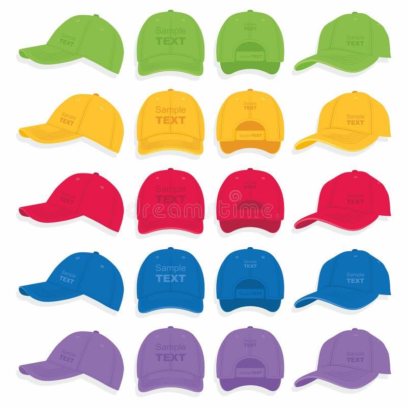 Gorra de béisbol stock de ilustración