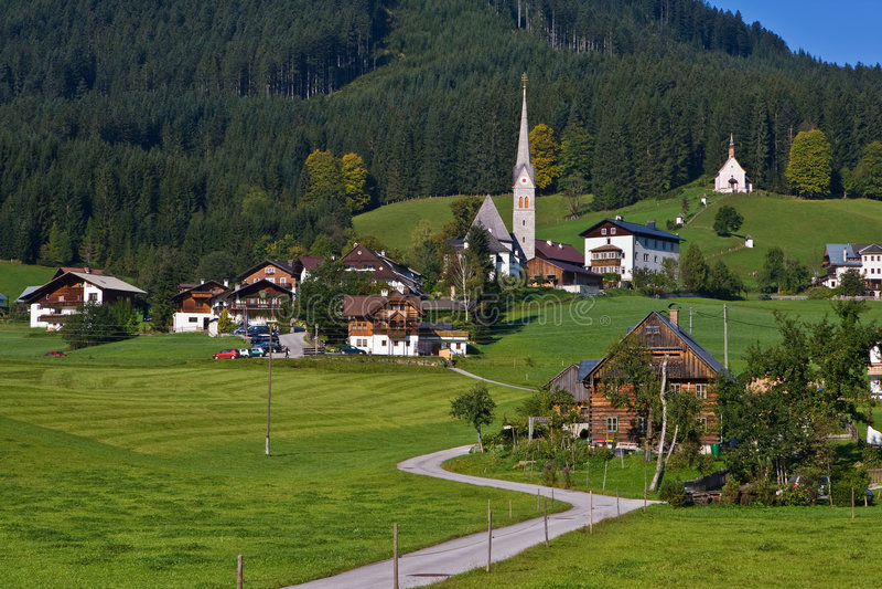 Gosau, Österreich stockfoto