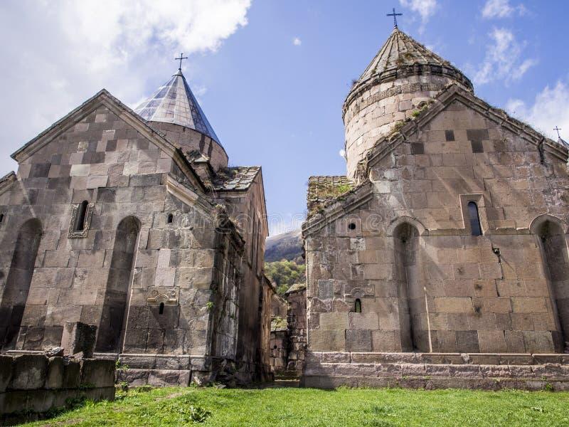 Goshavank修道院 图库摄影