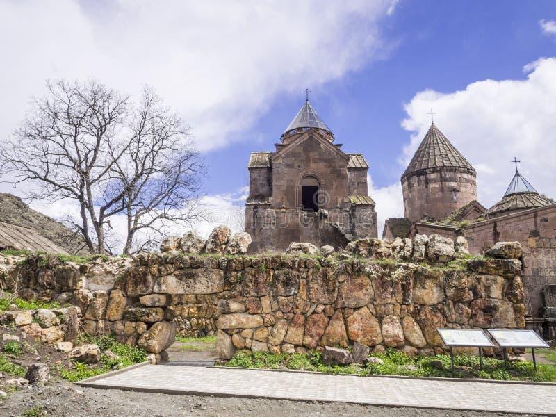 Goshavank kloster arkivfoto