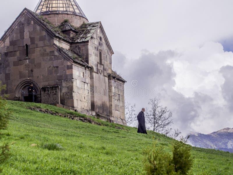 Goshavank monaster obrazy stock