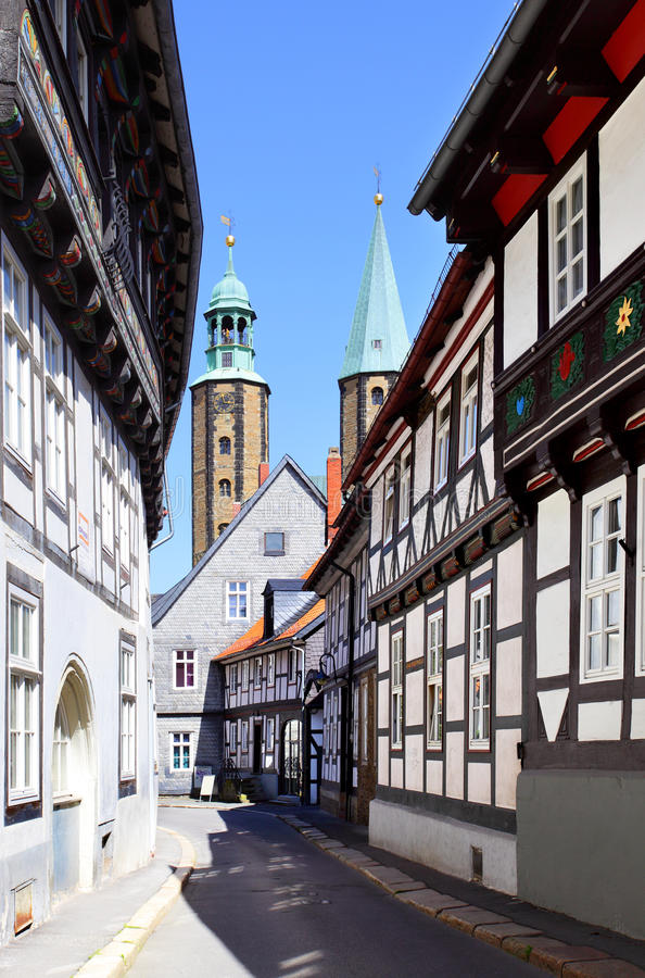 Download Goslar stock photo. Image of center, antique, perspective - 26436146