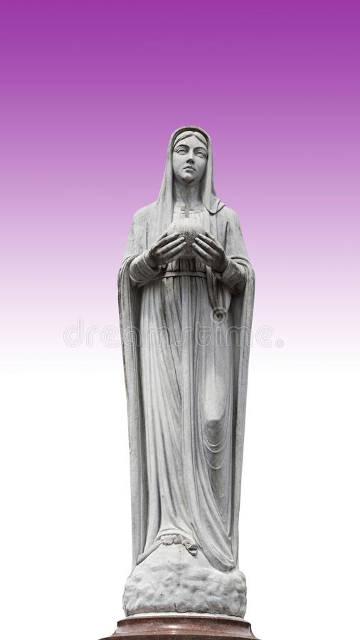 Virgin Mary, mother of Jesus royalty free illustration