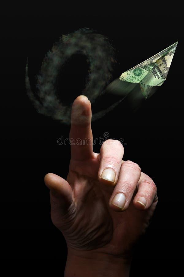 gospodarczego finansowy pieniądze zdjęcie stock
