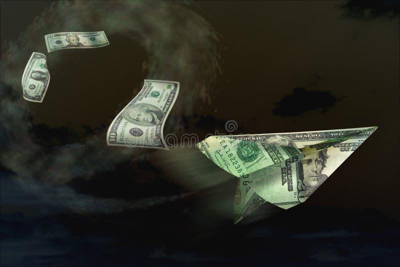 gospodarczego finansowy pieniądze royalty ilustracja