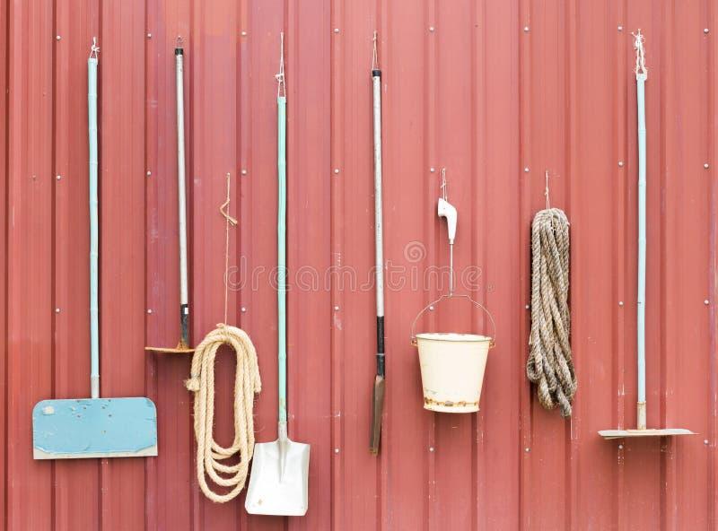 Gospodarstw rolnych narzędzia zdjęcia royalty free