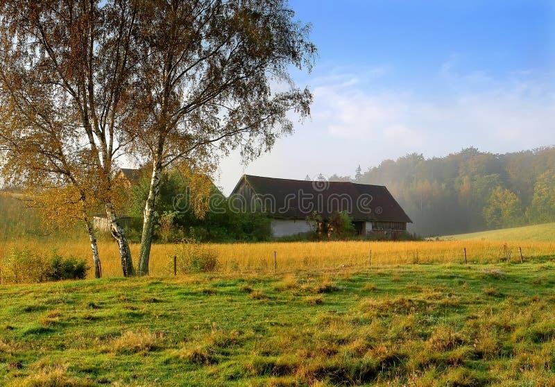 Download Gospodarstwa obraz stock. Obraz złożonej z mgła, mgłowy - 375893