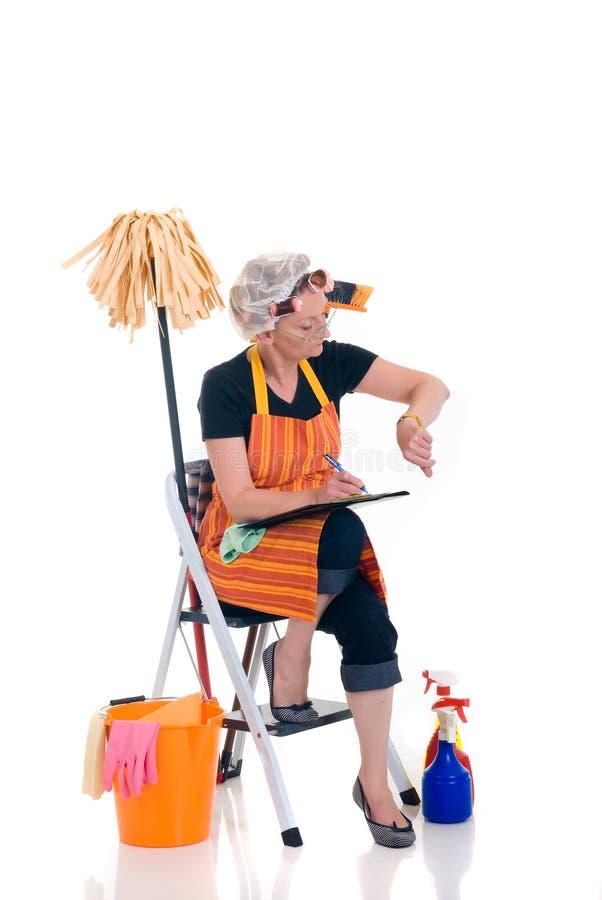 gospodarstwa domowego housekeeping zdjęcie stock
