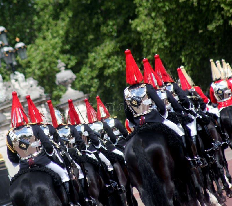 Gospodarstwo domowe kawaleria Wspinający się pułk obrazy royalty free