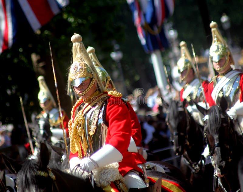 Gospodarstwo domowe kawaleria Wspinający się pułk zdjęcia royalty free