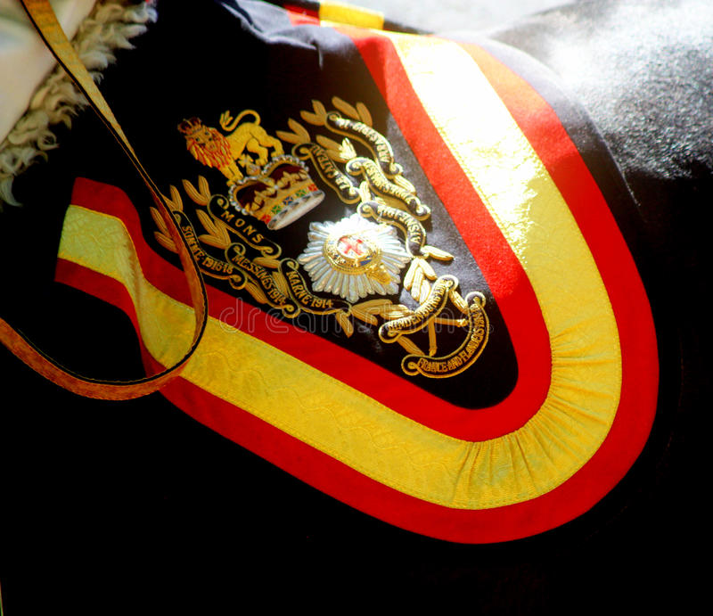 Gospodarstwo domowe kawaleria Wspinający się pułk zdjęcie royalty free